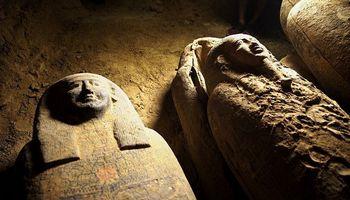 Archeologų lobis: Egipte rasti 2.500 metų senumo sarkofagai