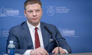 V. Šapoka: nauji mokesčiai pateisinami tik keičiantis ekonomikos struktūrai