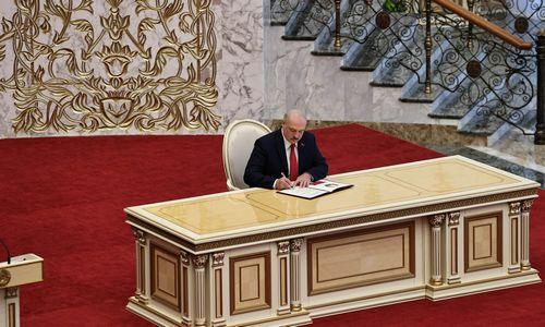 Po A. Lukašenkos saviinauguracijosS. Cichanouskaja ginčija jo legitimumą