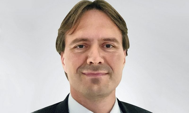"""Refinitiv"" atstovas Jan Persson-Tryggedsson."