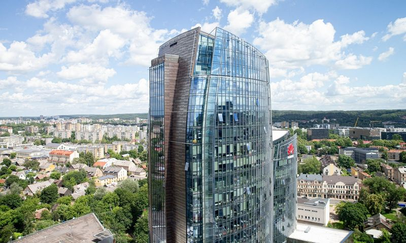 """Biurų kompleksas """"3 Burės"""" Vilniuje. Juditos Grigelytės (VŽ) nuotr."""