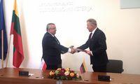 Pasirašyti memorandumai dėl Lietuvos ir Lenkijos bendradarbiavimo, plėtojant transporto infrastruktūrą