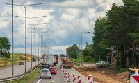 Pradedamas antrasis, 820.000 Eur vertės, kelių apšvietimo modernizavimo etapas