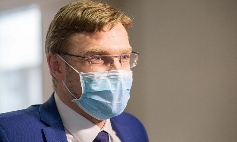 Linas Kukuraitis, socialinės apsaugos ir darbo ministras. Juditos Grigelytės (VŽ) nuotr.