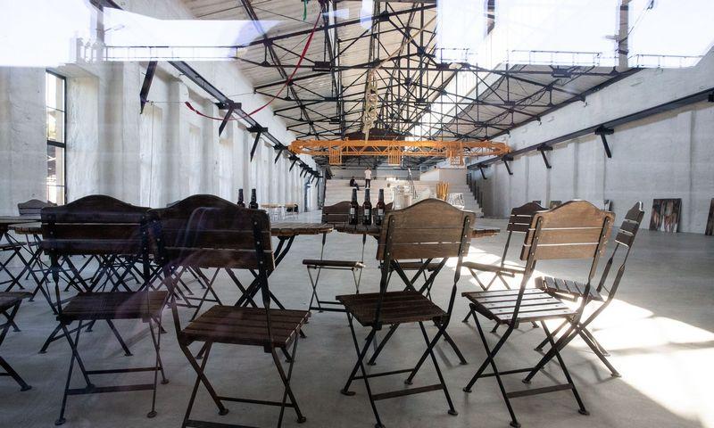 """""""Dūmų fabrikas"""", nauja kultūrinė erdvė Naujoje Vilnioje. Vladimiro Ivanovo (VŽ) nuotr."""