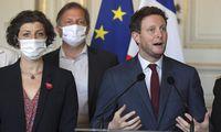 Prancūzija ragina Kiprą neblokuoti ES sankcijų Baltarusijai