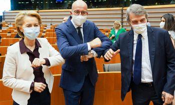 Dėl europinių trilijonų– intensyvios derybos