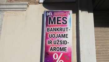 Gelbėjimo tinkle dalyvaus VMI ir įmonių bankrotų ekspertai