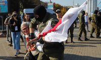Programišiai Baltarusijoje nutraukė valstybinių TV transliacijas internetu
