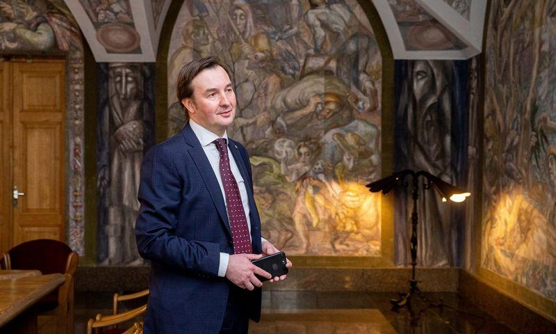 Rimvydas Petrauskas, Vilniaus universiteto rektorius. Juditos Grigelytės (VŽ) nuotr.
