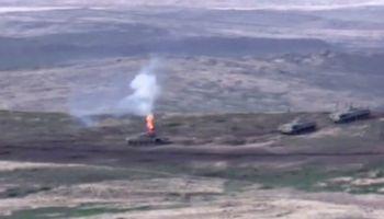 Armėnija ir Azerbaidžanas vėl apsikeitė ugnimi, Turkija reikalauja Armėnijos pasitraukimo