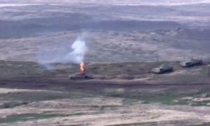Armėnija ir Azerbaidžanas vėl apsikeitė ugnimi, pranešama apie naujas aukas