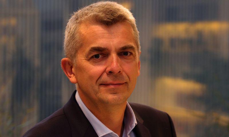 """Evaldas Rėkus, IT infrastruktūros paslaugų ir programavimo grupės bendrovės """"Novian"""" vadovas. Bendrovės nuotr."""