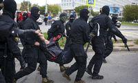 Baltarusijoje sekmadienį per protestus sulaikyta per 260 žmonių