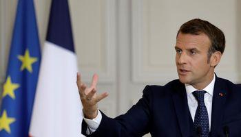 Lietuvoje lankosi Prancūzijos prezidentas E. Macronas