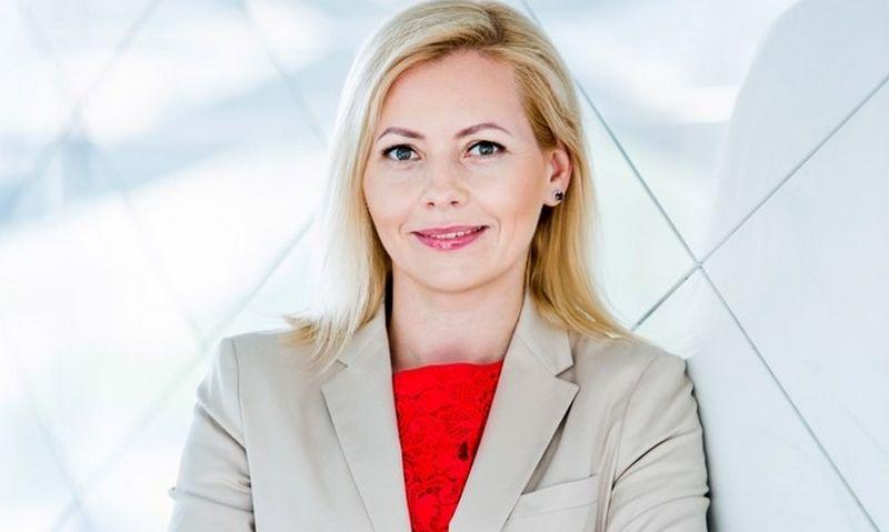"""Dovilė Grigienė, """"Swedbank"""" Lietuvoje vadovė."""