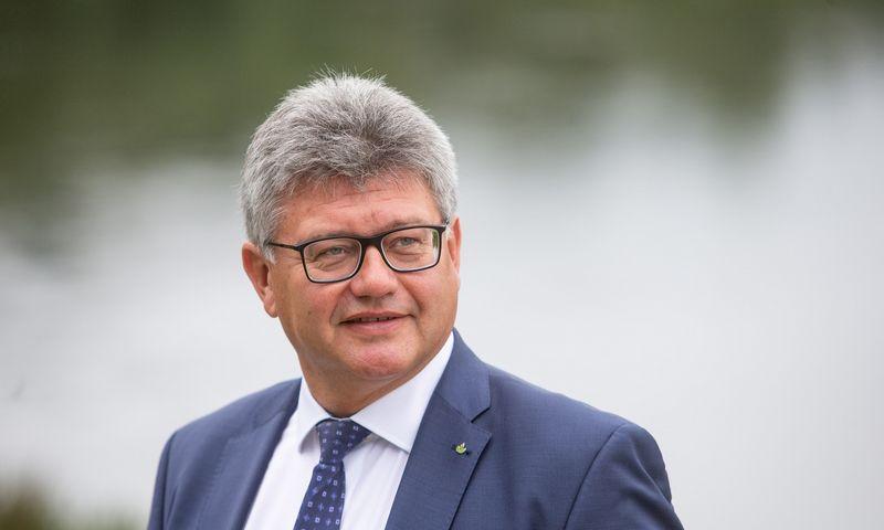 Remigijus Lapinskas, Lietuvos žaliųjų partijos pirmininkas. Vladimiro Ivanovo (VŽ) nuotr.