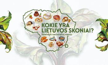 Pristatytas Lietuvos skonių žemėlapis ir specialus restoranų žymėjimas