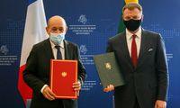 Lietuva ir Prancūzija pasirašė memorandumą dėl finansinio bendradarbiavimo