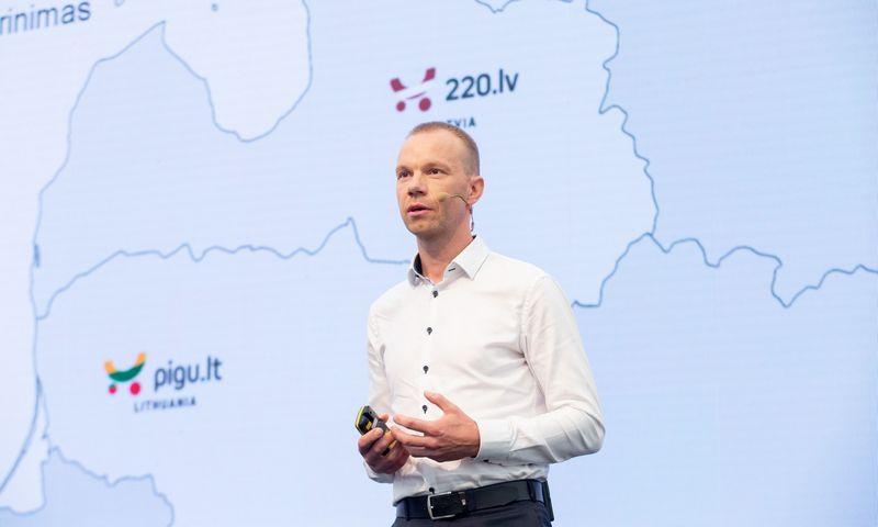 """Ernestas Kačerauskas, UAB """"Pigu"""" rinkodaros vadovas. Juditos Grigelytės (VŽ) nuotr."""