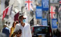 JK ekonomika antrąjį ketvirtį susitraukė 19,8%