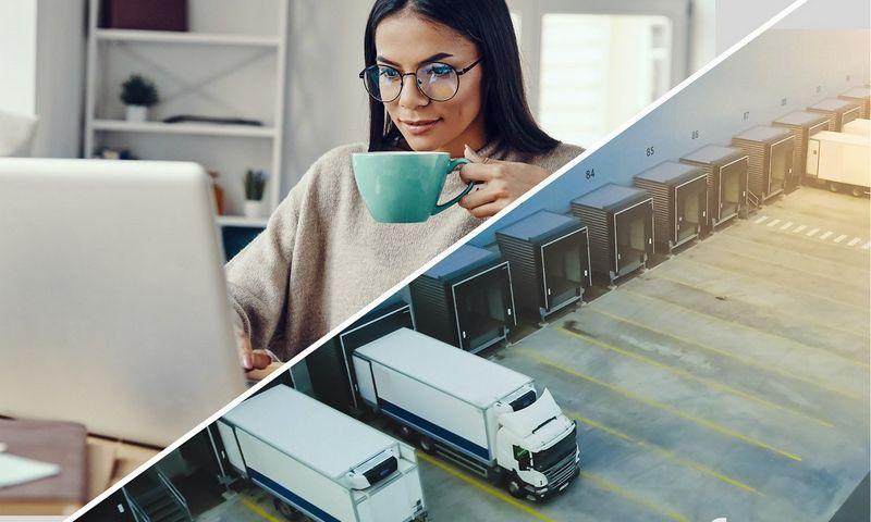 Logistikos procesai gali būti efektyvūs ir taupantys kaštus – tam reikia inovacijų. Bendrovės nuotr.
