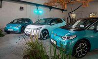 """""""Volkswagen"""" elektromobilis ID.3 pristatytas Vilniuje"""