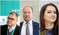 Nuomonės lyderiai: viršūnėje V. Vasiliauskas, Ž. Mauricas ir I. Ruginienė