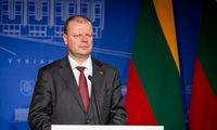 Premjeras įspėja apie pavojus Baltarusijoje dirbančiam Lietuvos verslui