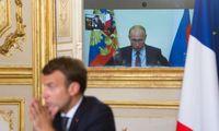 Prieš EVT susitikimą – V. Putino perspėjimas nesikišti į Baltarusijos reikalus