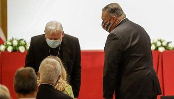Vatikanui nepatiko M. Pompeo kritika – Popiežius Pranciškus jo nepriims