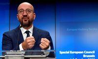 EVT pirmininkas C. Michelis: teisės viršenybės klausimas vis dar išlieka sudėtingas