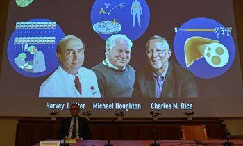 Nobelio medicinos premijaskirta trims mokslininkams