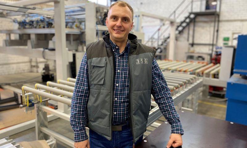 """Rytis Prūsaitis, UAB 3SG direktorius, įkūrėjas: """"Gamintojai suprato, kad automatizavimas, robotai yra pramonės ateitis."""" Įmonės nuotr."""