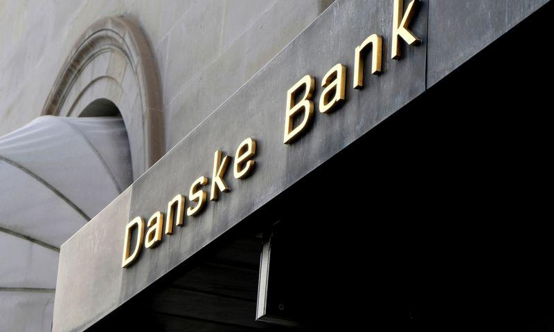 """""""Danske bank"""" teigia, kad dalį darbutojų atleisti įmonė yra priversta, nes turi apkarpyti išlaidas. Nikolajaus Skydsgaardo (""""Reuters""""/""""Scanpix"""") nuotr."""