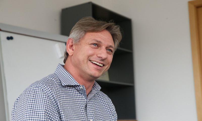 """Leonas Kupermanas, """"Cast AI"""" techninis direktorius. Vladimiro Ivanovo (VŽ) nuotr."""