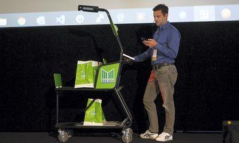 Prekybos sektorių į priekį stumia inovacijos: išmanieji vežimėliai – naujovė su dideliu potencialu