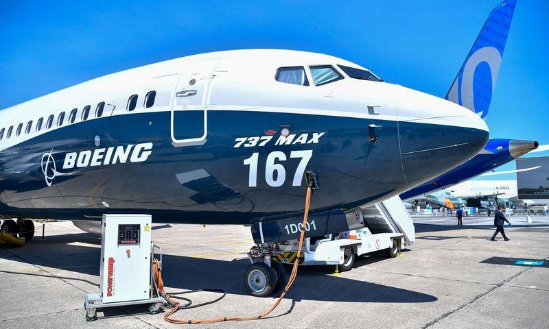 """15 metų trunkantis ginčas tarp JAV ir ES prasidėjo, """"Boeing"""" sulaukus 4 mlrd. USD valstybės subsidijų. """"Xinhua"""" / """"Scanpix"""" nuotr."""