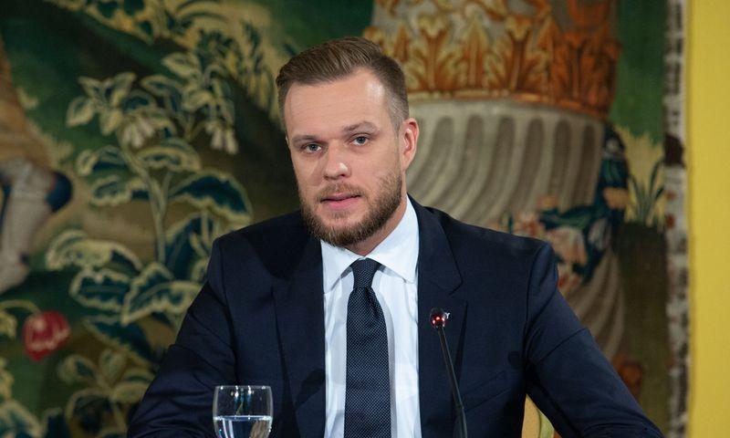 Tėvynės sąjungos-Lietuvos krikščionių demokratų (TS-LKD) pirmininkas Gabrielius Landsbergis. Juditos Grigelytės (VŽ) nuotr.