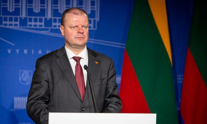 Lietuvos ministras pirmininkas Saulius Skvernelis. Dariaus Janučio (LRVK) nuotr.