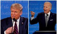 Donaldas Trumpas prieš Joe Bideną: rinkas neramina galimi neaiškūs rinkimų rezultatai