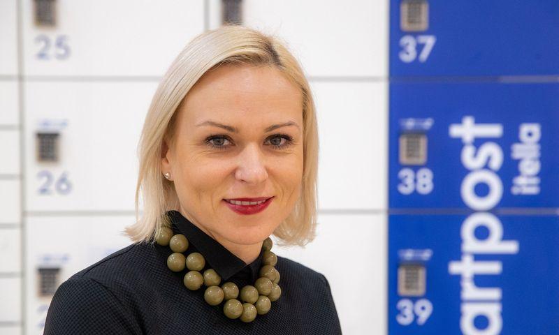 """Rasma Saulė, UAB """"Itella Logistics"""" vadovė. Vladimiro Ivanovo (VŽ) nuotr."""