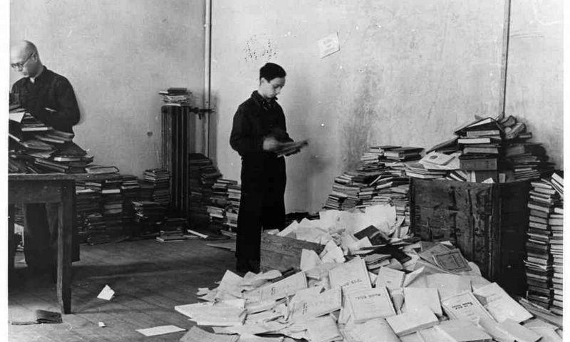 Popieriaus brigados nariai. YIVO žydų mokslo instituto archyvo nuotr.