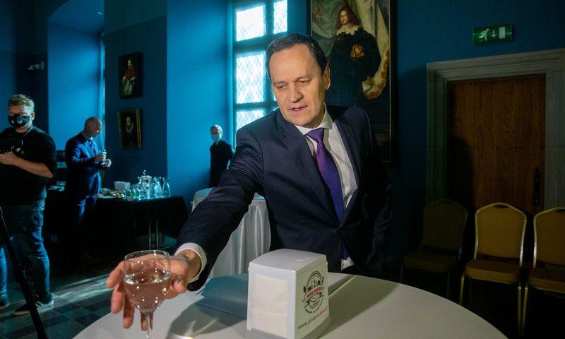 Valdemaro Tomaševskio vadovaujama LLRA-KŠS 5% tikslo rinkimuose nepasiekė. Juditos Grigelytės (VŽ) nuotr.