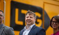 """""""LTG Cargo"""" vagonų nuomos verslą kelia į naują įmonę"""