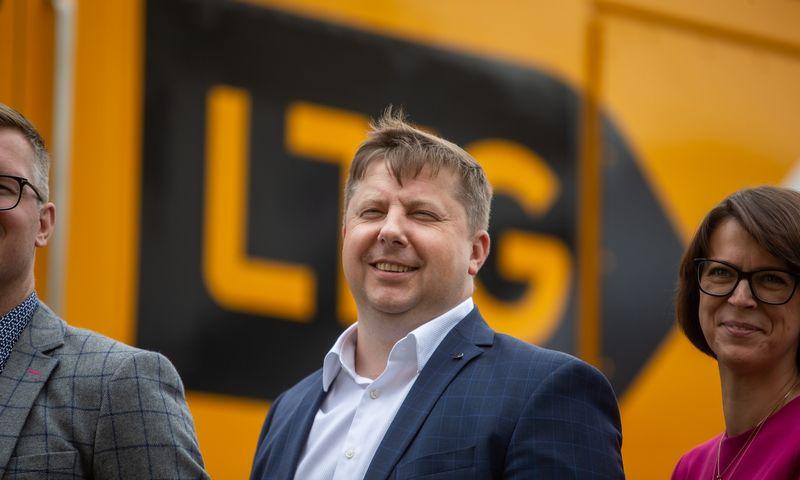 "Egidijus Lazauskas, ""LTG Cargo"" generalinis direktorius. Vladimiro Ivanovo (VŽ) nuotr."