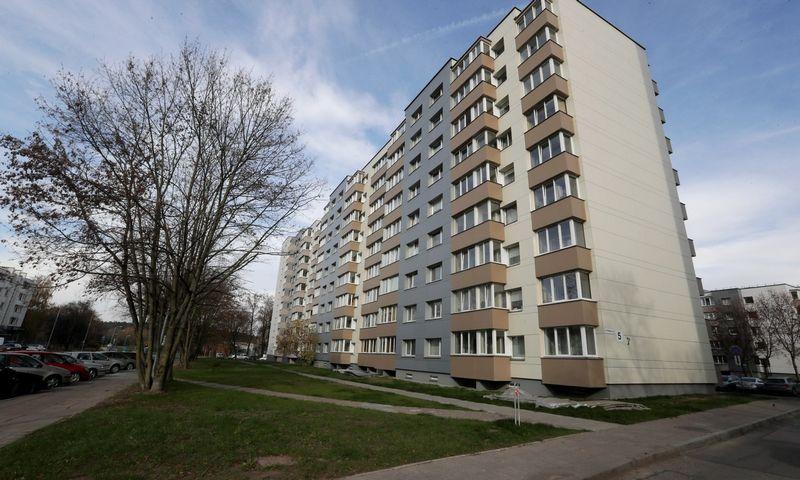 Daugiabučių renovacija Lietuvoje. Nuotrauka iš BETA archyvo.