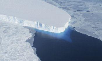 Pasaulio pabaigos ledynas siunčia žinią Žemei