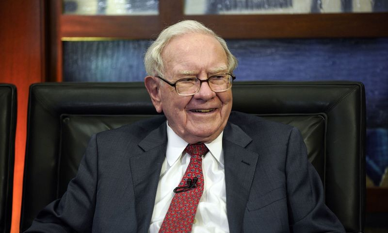 "Warrenas Buffettas. Nati Harnic (""AP Photo""/ ""Scanpix"") nuotr."