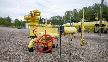 Lietuva šiemet į kitas šalis transportavo dukart daugiau dujų